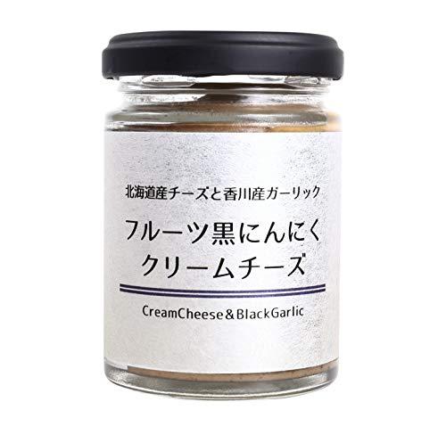 濃厚 クリームチーズ スプレッド ワイン オードブル おつまみ フルーツ黒にんにくクリームチーズ (1)