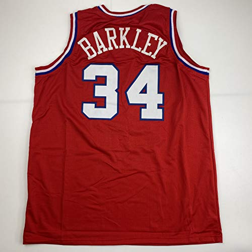 Unsigned Charles Barkley Philadelphia Red Custom Stitched Basketball Jersey Size Men's XL New No Brands/Logos