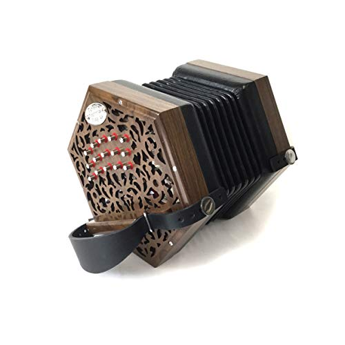 The Clare Concertina by The Irish Concertina Company/High Quality Professional Reeds