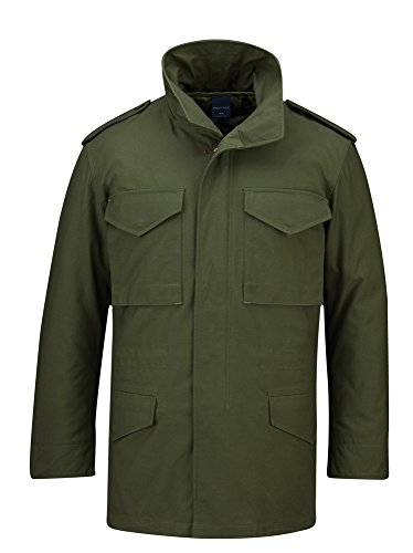 Propper Men's M65 Field Coat, Olive, Large Regular