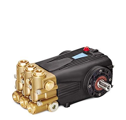 IGOSAIT DS Brass Triplex Plunger Pump 21-50L 150-500Bar/5075Psi high Pressure Washer Pump (Color : with Regulator Gauge, Voltage : DS1640)