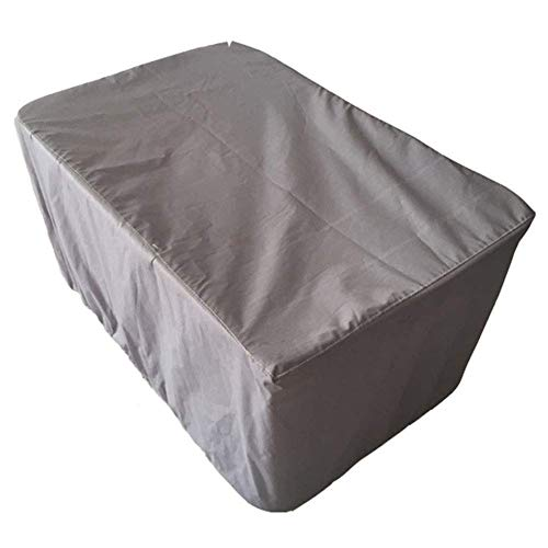 Nfudishpu Garden Table Cover Heavy Duty Oxford Imperméable Protective Patio Set Cover, Grey (Size: 270 & Times; 180 & Times; 89cm)