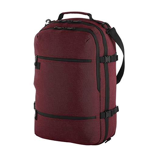 Rada Rucksack Reisetasche RS51 Voyager geeignet als Handgepäck auf Flugreisen | Sporttasche für Damen und Herren (55x36x20cm) (Bordeaux)
