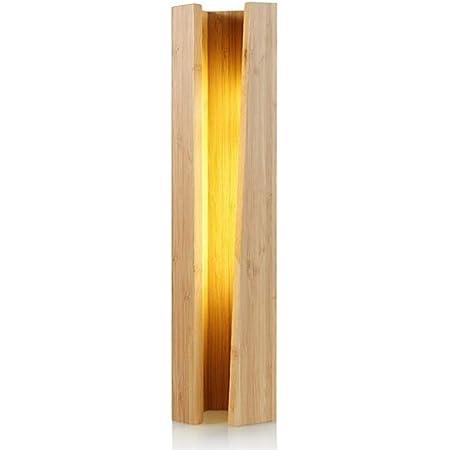 間接照明 ベッドサイドランプ 調光 ベッドルーム間接照明 テーブルライト 和風 おしゃれ インテリア 寝室 授乳 リビング 癒しの光 led照明 デスクライト 机上スタンドライト 竹製 (A型 36*9.2.cm)