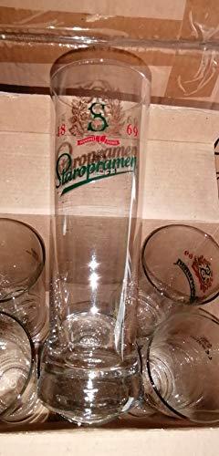 Set di 6 bicchieri da 25 cl con birra Stonframe – Rare