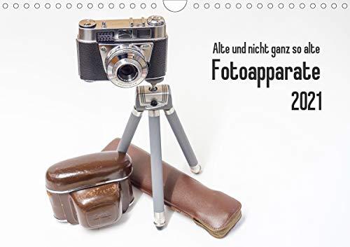 Alte und nicht ganz so alte Fotoapparate (Wandkalender 2021 DIN A4 quer): Bilder von alten und neueren Fotoapparaten (Monatskalender, 14 Seiten )