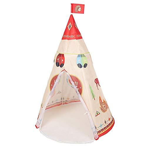 Draagbare kinderen spelen tent, indische stijl kind tent speelgoed voor huis/binnen/strand, eenvoudig op te zetten