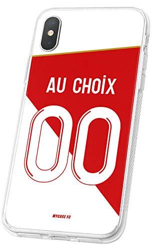 MYCASEFC - Cover da calcio personalizzabile Monaco per Samsung Galaxy S3 Mini, in silicone