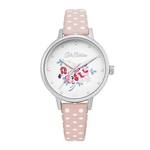 Cath Kidston Damen-Armbanduhr Ckl070P rotgold Edelstahl Blumenlegierung