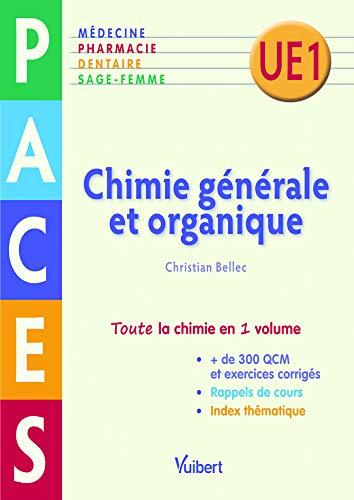 Chimie générale et organique - PACES UE1