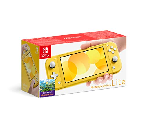 Console Nintendo Switch Lite - jaune