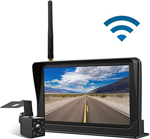 """Aceeken HD 720P Wireless Backup Camera with 4.3"""" LCD Screen HD Rear/Front View Camera Kit for Cars,SUVs,Trucks,UTVs Driving/Parking Use Super Night Vision Waterproof Reverse Cam DIY Backup Guidelines backup Cameras Vehicle"""
