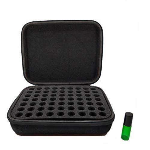 SNIIA 63 fles etherische oliën draagtas stootvaste etherische oliën display organizer reistas nagellak opbergdoos voor 5 ml flessen