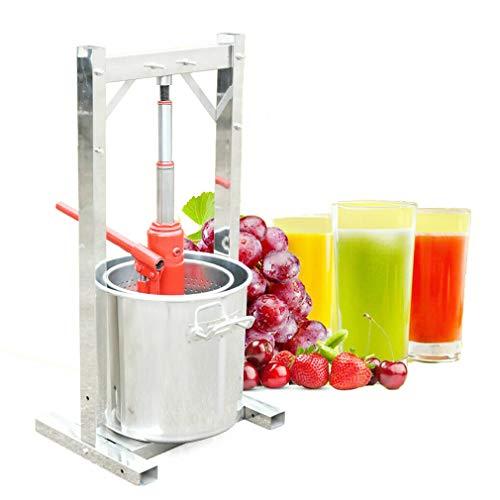 Exprimidor manual de 12 L para frutas, exprimidor de uvas co