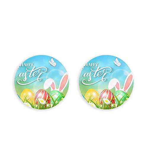 Tema de Pascua Orejas Conejito Mariposas Volando Abrebotellas de cerveza 2 Piezas Sacacorchos Clips magnéticos para nevera