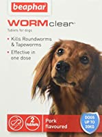 Kills both roundworms and tapeworms Use from 2 weeks of age and weighing more than 3kg Meaty flavoured Effective in One Dose For dogs up to 20kg