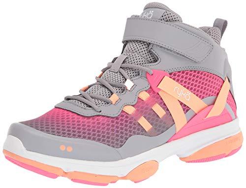 Ryka Women's Devotion XT Mid Training Shoe, Sleet, 8
