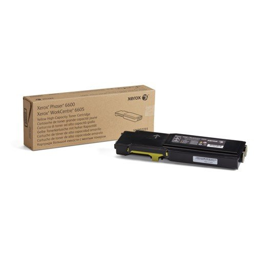 Xerox Phaser 6600/WorkCentre 6605 Cartuccia toner giallo alta capacità (6.000 pagine)