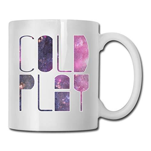 Jldoenh Udjgn Coldplay Tasse Porzellan Becher 330 ml Keramik Zuhause Büro Umweltschutz