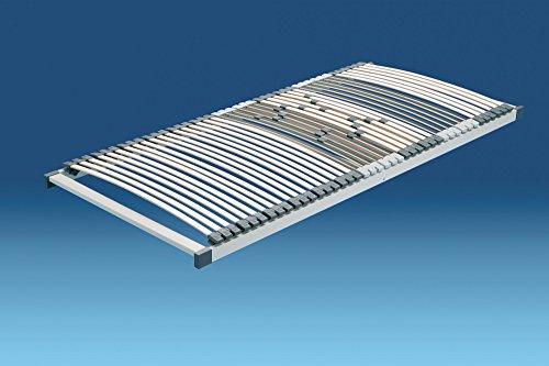 Hn8 Quattroplus Plan Lattenrost mit 42 Leiste Mehrschicht-Federholzleisten aus Buche und Birke - Grösse 120x200