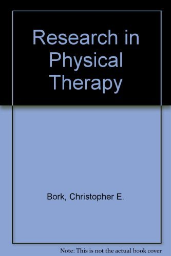 Research in Physical Therapy