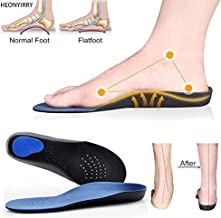 HealthyNeeds Professional Orthotic EVA Adult Flat Foot Arch Support Orthopedic Insoles