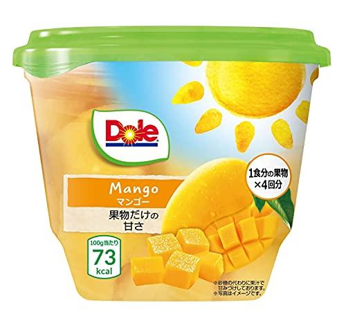 Dole ドール フルーツパック マンゴー 425g×8個 【ヨーグルトやグラノーラに】 (果物 フルーツポンチ ギフト デザート シリアル 間食 おやつ 朝食) ×8個