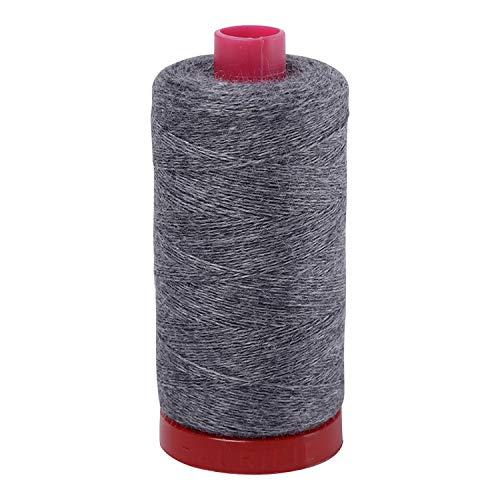 Aurifil Lana Wool Thread-12wt-383 yds Steele Gray 8082