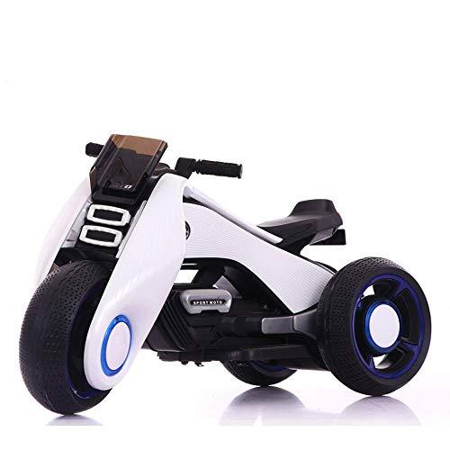 WJXBoos Niños 'S Coche eléctrico Moto Triciclo Buggy Batería Macho y Hembra...