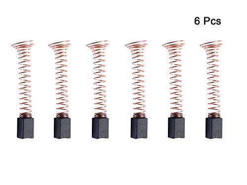 6 PCS Carbon Motor Brushes Compatible for Dremel 90930-05 Brush Repairing Part for 275, 285, 300, 395, 595(Type 3,4,5)