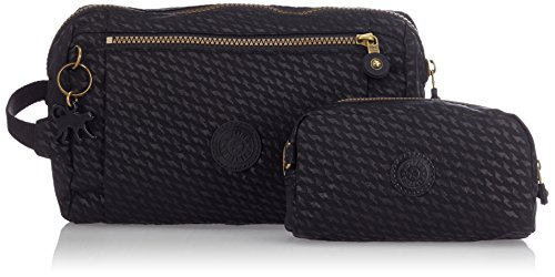 Kipling K17149L01 Beauty Case, 24 cm, Nylon, Nero