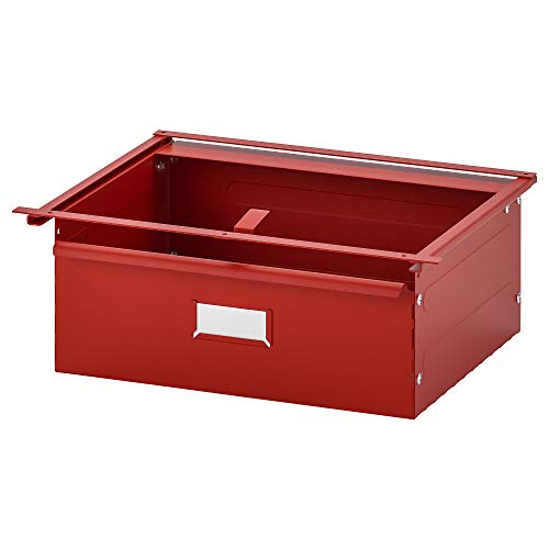 Cajón IVAR 39x30x14 cm rojo