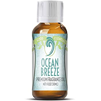 Ocean Breeze Scented Oil by Good Essential  Huge 1oz Bottle - Premium Grade Fragrance Oil  - Perfect for Aromatherapy Soaps Candles Slime Lotions and More!