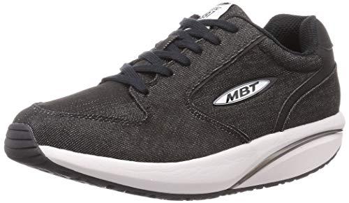 MBT Rocker Bottom Shoes Hombre – Zapatos Casual 1997, Negro, 43 EU ⭐