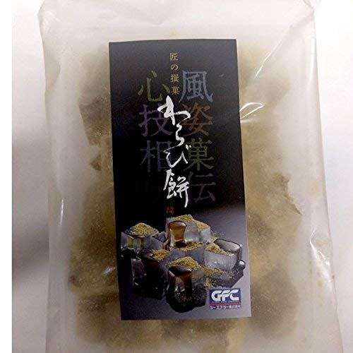 【冷凍】業務用 和菓子 わらび餅(黒糖)500g【入り数3】