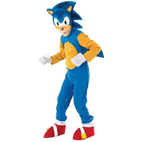 Rubie's - Sonic el Erizo, Traje para niños de 5-6 años (disfraz)