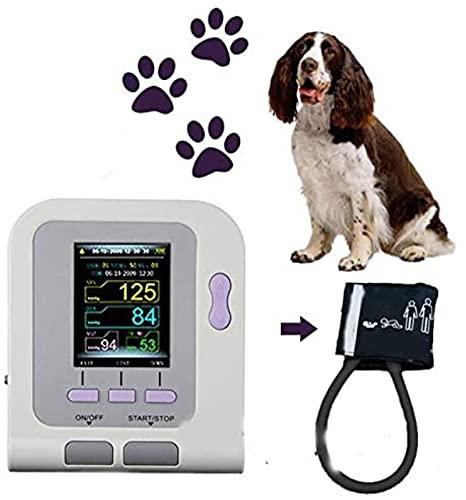 Moniteur de tension artérielle Vétérinaire de couleur numérique NIBP automatique, utilisation des animaux