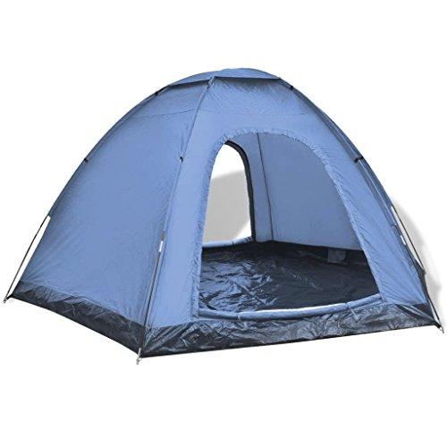 Tidyard Ultra-Leggero Tenda da Campeggio per 6 Persone, Tende da Escursioni/Tenda Canadese Igloo da Posti, 360 x 316 x 180cm / Pieghevole/Impermeabile