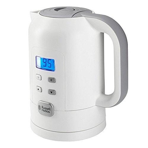 Russell Hobbs Precision Control - Hervidor de Agua Eléctrico (1,7 litros, Plástico, 2200 W, Blanco) - ref. 21150-70