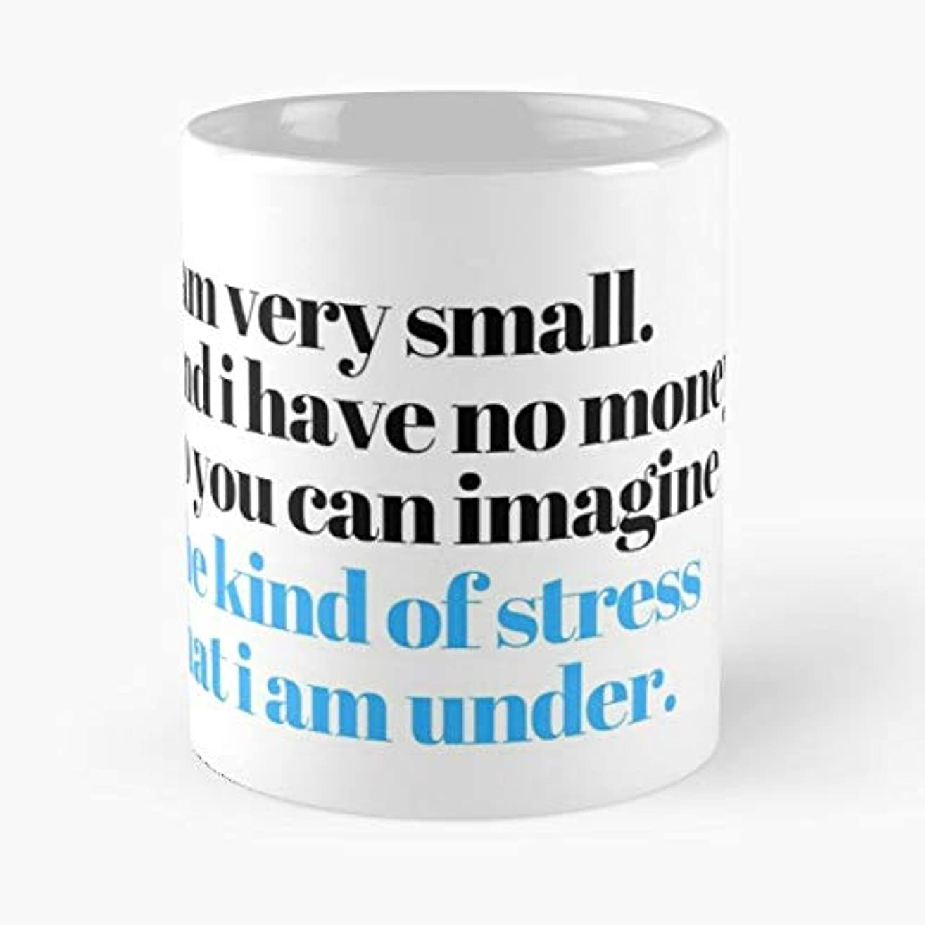 Mulaney John Stress New In Town - Ceramic Novelty Mugs 11 Oz, Funny Gift