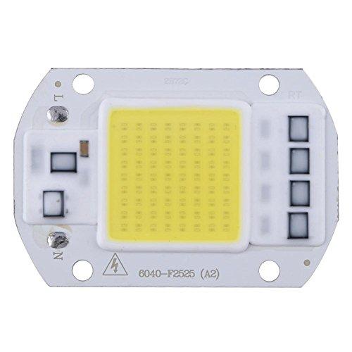 Demiawaking Chip LED 50w AC 220V Alta Potenza COB LED Chip per Lampada Faretto (Luce Bianco)