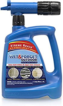 Wet & Forget Bleach-Free Formula Roof and Siding Cleaner 48 Oz