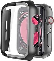 ULOE 適用 Watch Series 6 / SE/Series 5 / Series 4 44mm PC 黑色 用 保護殼
