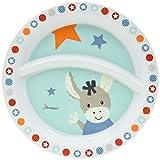 Sterntaler Baby-Teller, Esel Emmi, Alter: Für Babys ab 6 Monaten, Hellblau/Mehrfarbig