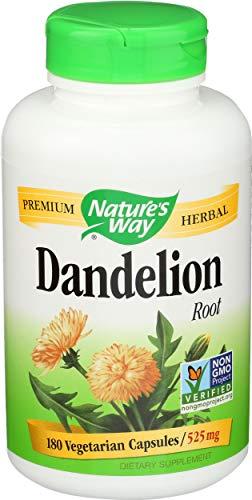 Dandelion Root Diuretic Herb (180 Vegan Capsules)