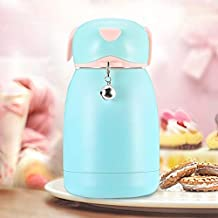 YMYN AYSMG 300mL Cartoon Puppy Shape with Bell Mug Cute Portable Children Student Stainless Steel Cup(Cyan) (Color : Color1)