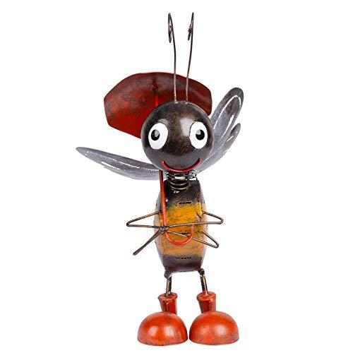 Kölle Biene mit Regenschirm, Metall, 36 x 19 x 23 cm