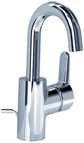 Ideal Standard B0112AA Waschtisch -Einhebelmischer BLUE 146mm, mit Ablauf-Garnitur und Eco- Funktion verchromt