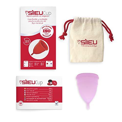 Copa Menstrual Sileu Cup Soft - Ayuda prevenir infecciones