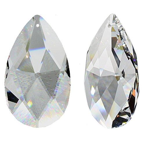 Swarovski Spectra Crystal Rombos de Wachtel 63mm 2Unidades de Cris